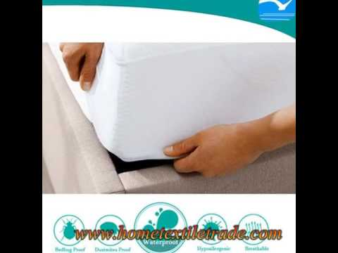 New Quilted Fitted Waterproof Cot Mattress Protector Standard Cot