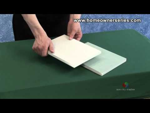 How to Fix Drywall - Drywall - Materials - Drywall Repair