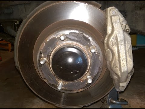 2008-2019 Toyota sequoia and tundra front rotor replacement