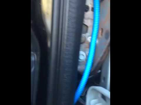Jeep commander floor leak fix