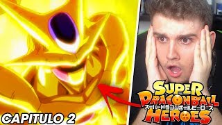 *  REACCION * SUPER DRAGON BALL HEROES CAPITULO 2 SUB ESPAÑOL ( COMPLETO )