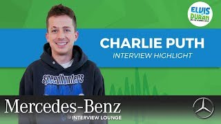 Britney Spears Helped Charlie Puth Discover His Love for Music | Elvis Duran interview Highlight