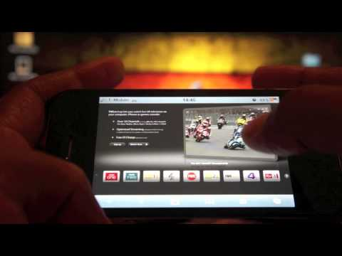 LIVE TV streaming on the iPhone, iPod Touch and iPad