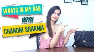 What's In My Bag Ft. Chandni | Bag Secrets Revealed | POP Diaries Fashion
