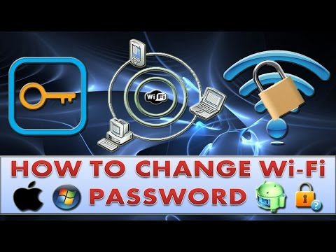 How to change wifi password on Mac, Windows & Android