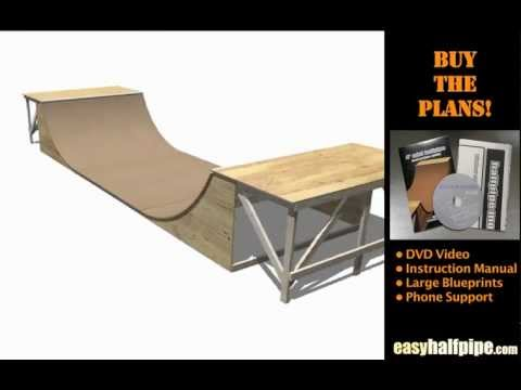 How to Build a Halfpipe Step 1 INTRODUCTION