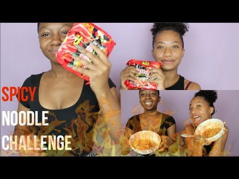 Spicy Noodle Challenge FAIL  Tatyana Celeste ❤︎
