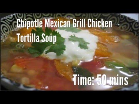 Chipotle Mexican Grill Chicken Tortilla Soup Recipe