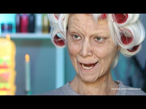 Old Lady Lex (Old Age) Makeup Tutorial (NO PROSTHETICS/NO LATEX)