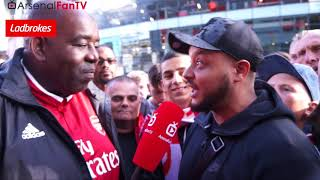 Arsenal 3-0 Bournemouth | Troopz Tells Ozil To Show Arsenal Legends Some Respect
