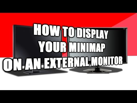 League of Legends: How to Display Your Minimap on Your Dual Monitors - 2017
