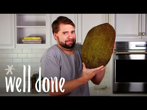 How To Cut Up Jackfruit: This Daunting Fruit Doesn't Have To Be A Hassle | Food Hacks | Well Done