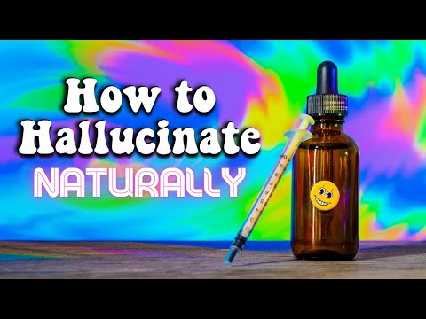 How to Hallucinate Naturally! (Closed Eye Visuals)