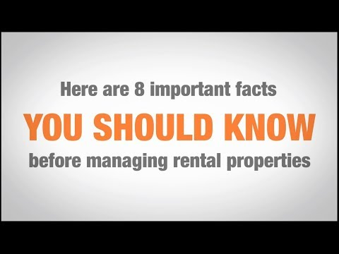 Real Estate Property Management 101: 8 important facts