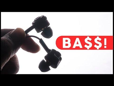 Best BASS-Heavy Earphones on Budget Under $20/1500 Rupees!?! 2018 -  Blitzwolf ES2 Review