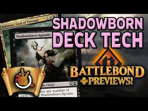 Shadowborn Apostle Deck Tech +Battlebond Previews | The Command Zone #211 | Magic the Gathering