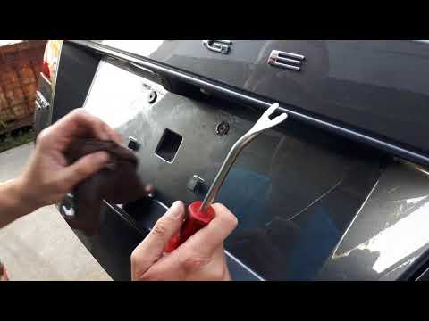 Dodge Journey Rear license plate bolt repair