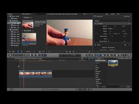 Hvordan man slører / censurerer et ansigt i Final Cut Pro X