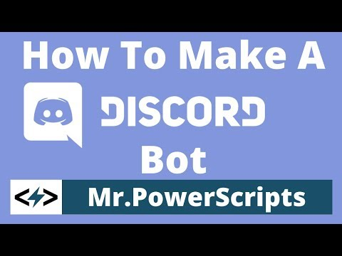 How to make a Discord bot