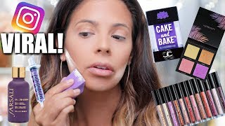 SUPER VIRAL INSTAGRAM MAKEUP PRODUCTS   HIT OR MISS?