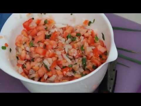 How to Make Lomi Lomi Salmon    Traditional Hawaiian luau dish