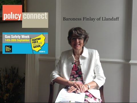 Baroness Finlay of Llandaff speaks about Gas Safety Week