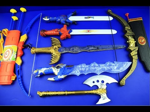 Bow, Arrow and Sword for kids | Box of toys