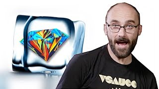 Can You Solve this Ice Diamond Riddle? ft. Vsauce's Michael Stevens