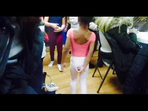 Wedgie galore during gymnastics class