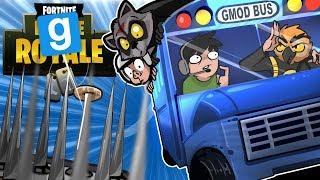 Gmod Ep. 75 Death Run! - FORTNITE EDITION! (Garry's Mod Funny Moments)