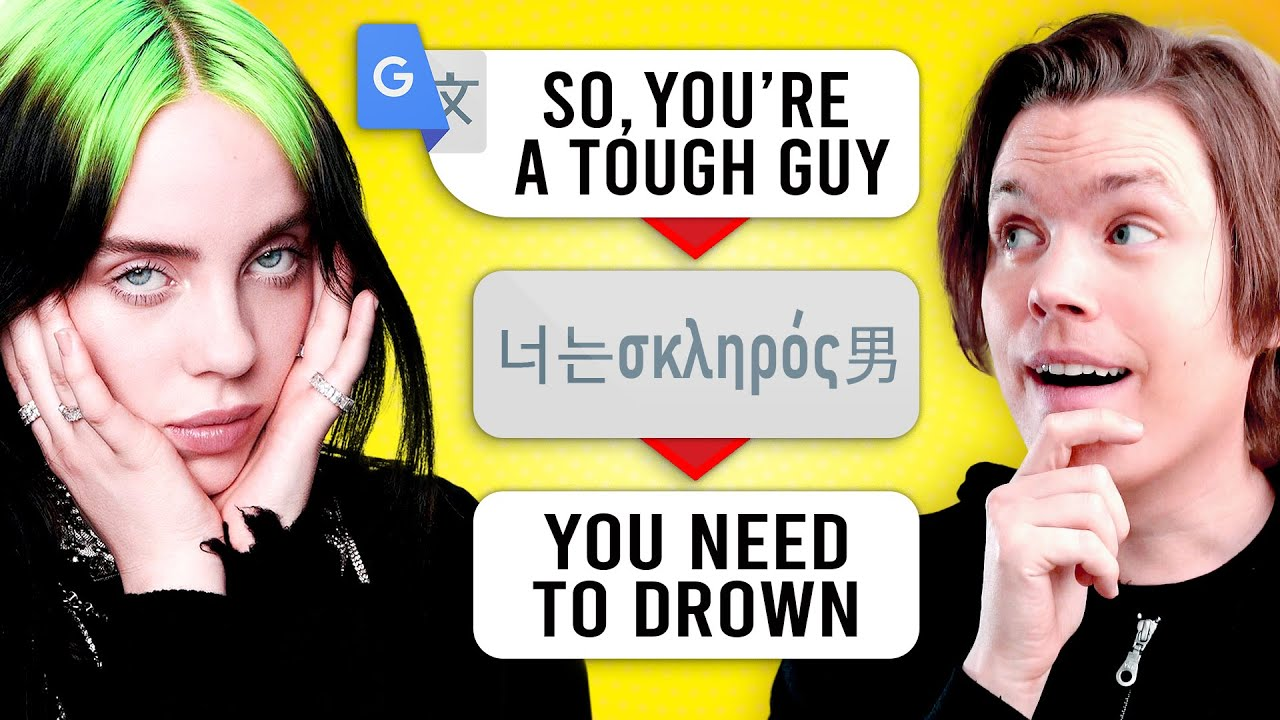 Overly Google Translated Songs (Can You Guess Them?)