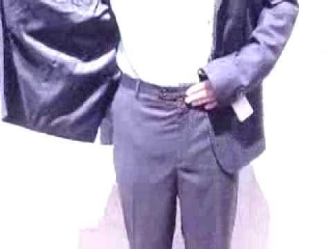 ARMANI-navy blue suit