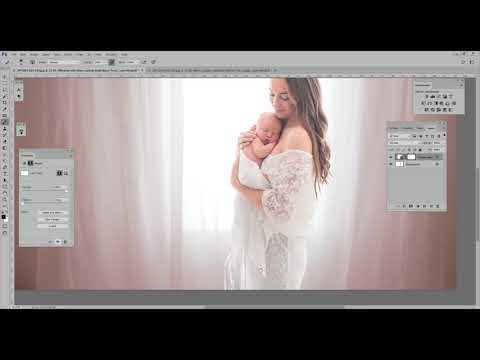 Adding sheer curtain overlays to your images