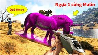 """ARK: Ragnarok Mod #20 - Bộ Đôi Ngựa 1 Sừng """"Elder Malin"""" Siêu Hiếm Đã Bị Bắt =))"""