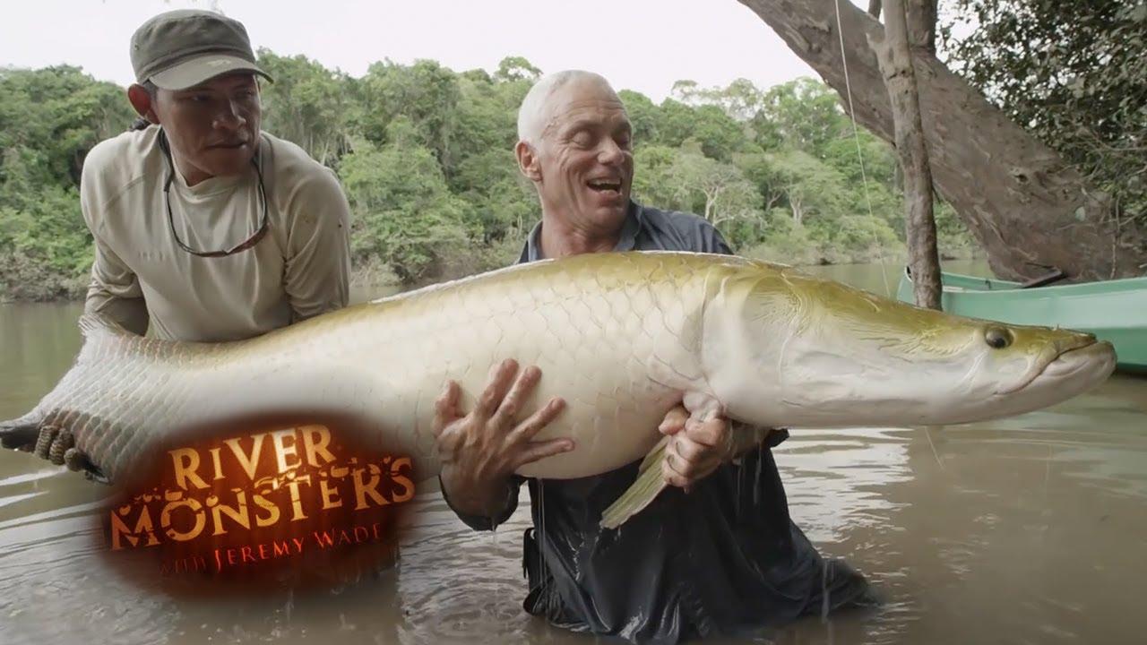 Incredible REEL TIME Arapaima Catch | ARAPAIMA | River Monsters