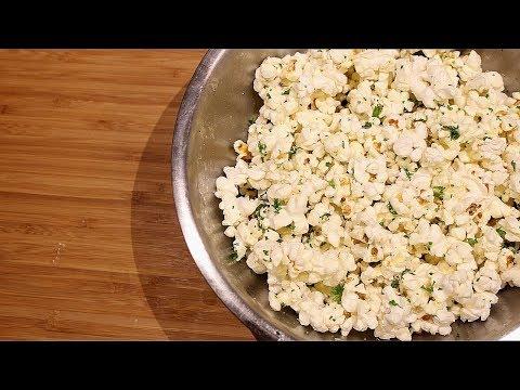 Parmesan Parsley Popcorn