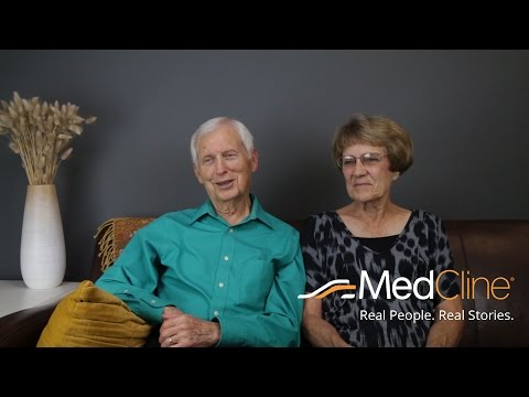 MedCline™ Acid Reflux Relief System - Testimonial from Martin and Joyce