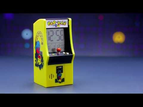 PAC-MAN Arcade Cabinet Alarm Clock | Paladone