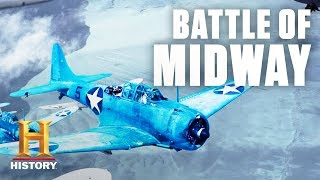 Download Battle of Midway Tactical Overview – World War II | History Video