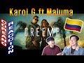 [ENG Speaking]🔥🔥 KOREAN BOYS React To KAROL G x MALUMA - Créeme