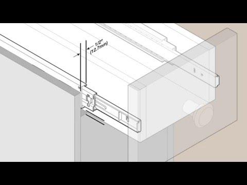 Liberty - Soft Close Ball Bearing Drawer Slide - Installation Video