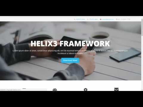 Organizando Plantilla para maquetar Landing Page Joomla