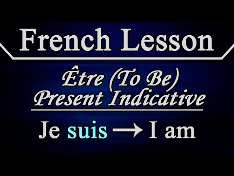 Learn French - Lesson 13 - Verb