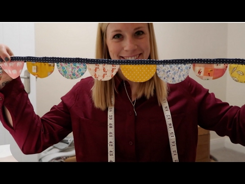 How To Make Bunting With a Difference