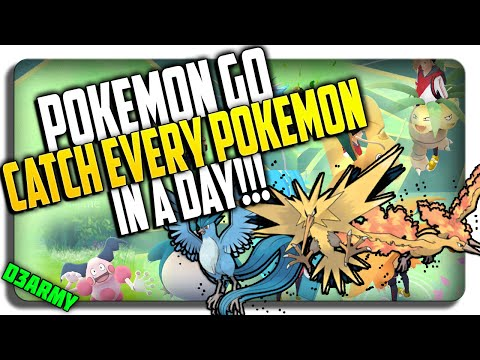 CATCH EVERY POKEMON IN A DAY! (How 2 use Teleport hack PROPERLY) (NO SOFT BAN!)