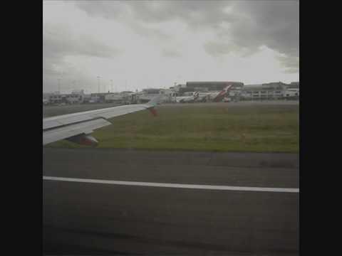 Jetstar Airbus Sunset Takeoff - Rwy 16R Sydney