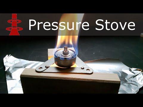 DIY Alcohol Stove: Pressure Stove