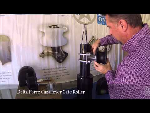 Project ONE Delta Force Cantilever Gate Roller