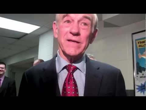 Ron Paul Talks About GOP Election Fraud