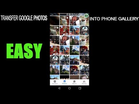 HOW TO TRANSFER YOUR GOOGLE PHOTOS INTO YOUR GALLERY ON YOUR ANDROID DEVICE(EASY/Subscribe)!!!😃